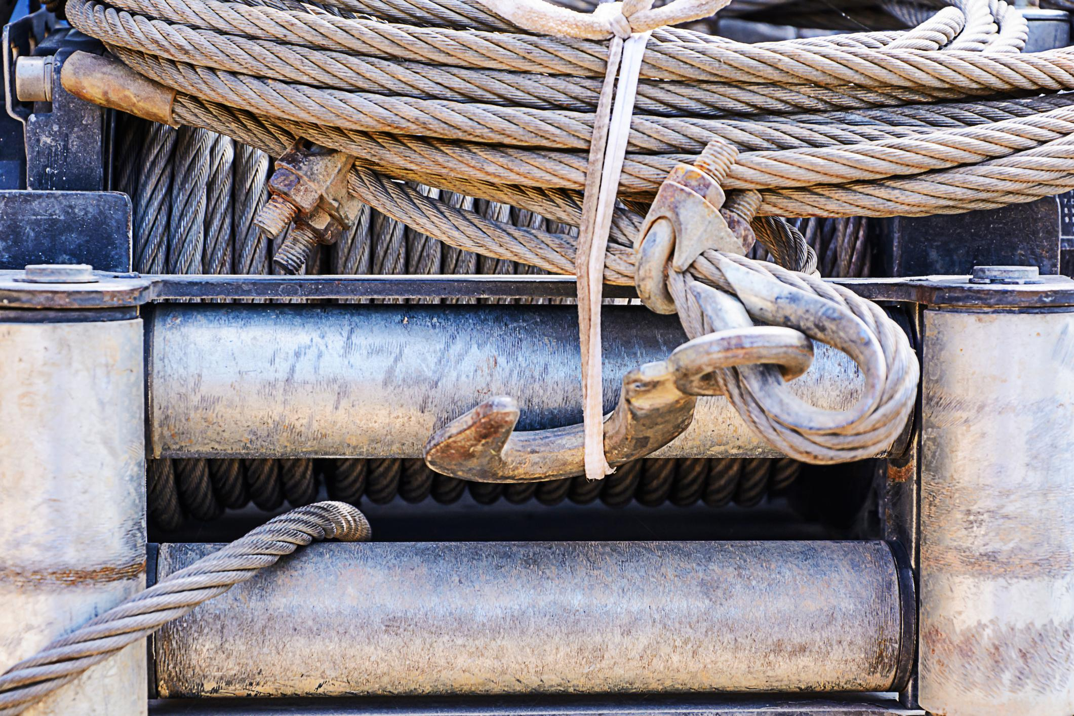 This is a picture of a winch outs.